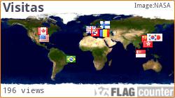 mapa de visitas